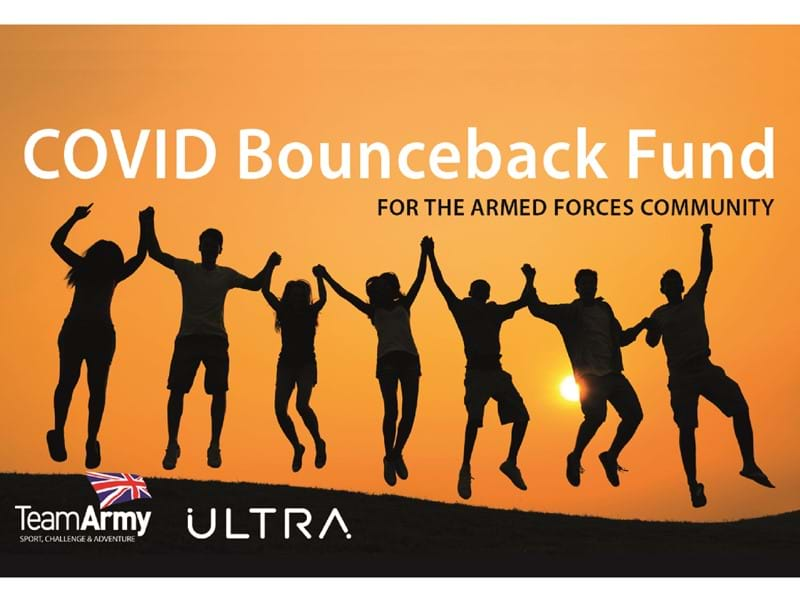 Team Army Sports Foundation launches new COVID Bounceback Fund with Ultra